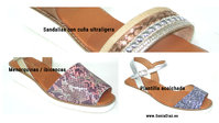 45.- Wedge sandals
