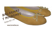 Bailarinas, mocasines y slippers